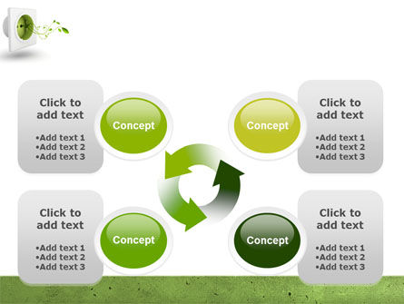 Green Socket PowerPoint Template Slide 9