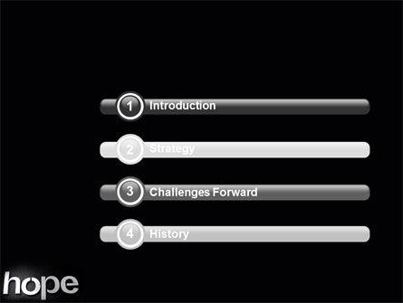 Hope PowerPoint Template Slide 3