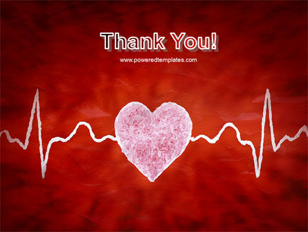 Heartbeat PowerPoint Template Slide 20