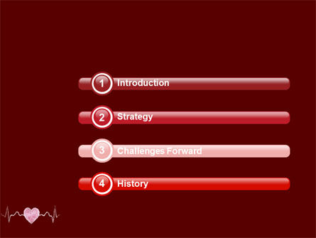 Heartbeat PowerPoint Template, Slide 3, 04504, Medical — PoweredTemplate.com