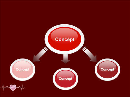 Heartbeat PowerPoint Template, Slide 4, 04504, Medical — PoweredTemplate.com