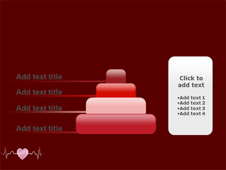 Heartbeat PowerPoint Template Slide 8