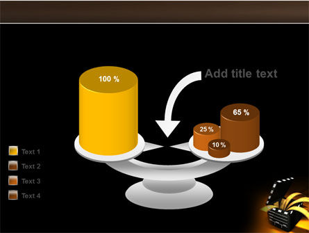 Movie Clapper PowerPoint Template Slide 10