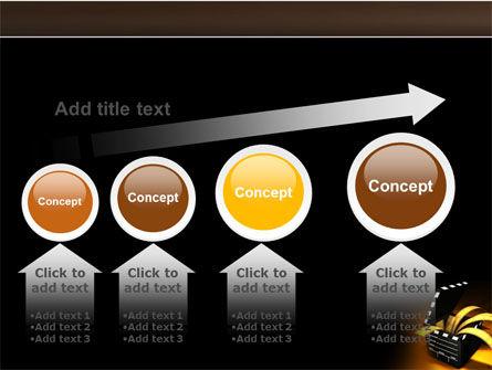 Movie Clapper PowerPoint Template Slide 13