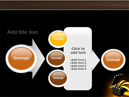 Movie Clapper PowerPoint Template Slide 17