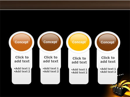 Movie Clapper PowerPoint Template Slide 5