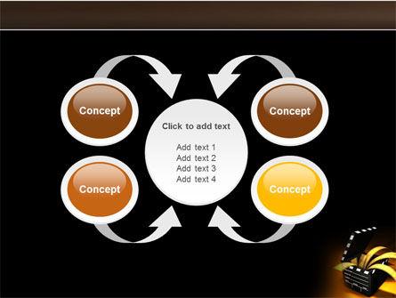 Movie Clapper PowerPoint Template Slide 6