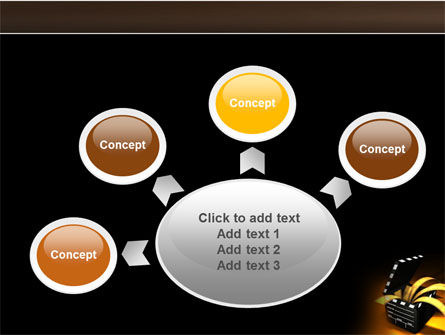 Movie Clapper PowerPoint Template Slide 7