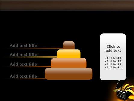 Movie Clapper PowerPoint Template Slide 8