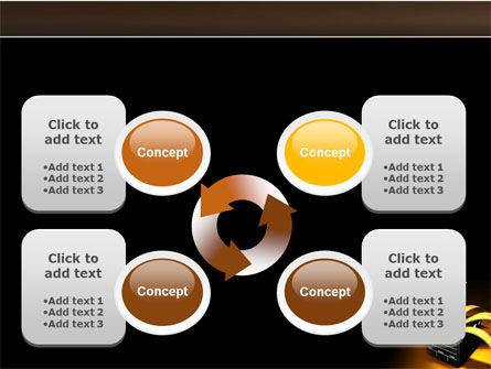 Movie Clapper PowerPoint Template Slide 9