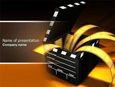 Movie Clapper PowerPoint Template#1