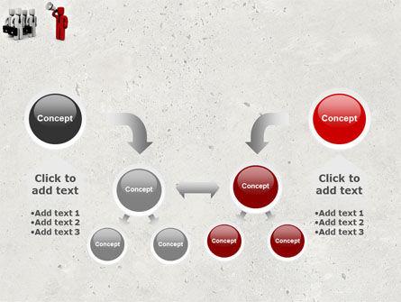 Commander PowerPoint Template Slide 19