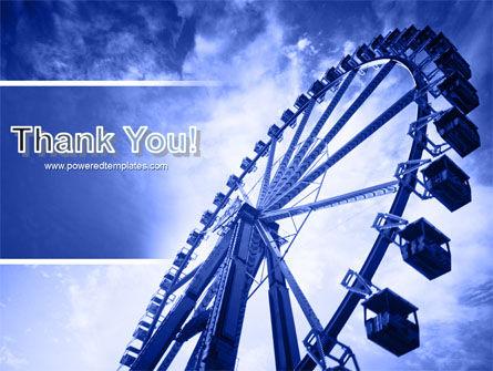 Ferris Wheel PowerPoint Template Slide 20