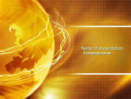 technology world powerpoint template, backgrounds | 04509, Modern powerpoint