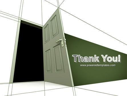 Plan With Open Door PowerPoint Template Slide 20
