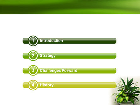 House Plant PowerPoint Template Slide 3