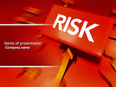 Business: Risk Block PowerPoint Template #04516