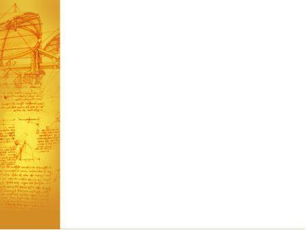 Leonardo Da Vinci PowerPoint Template, Slide 3, 04517, Education & Training — PoweredTemplate.com
