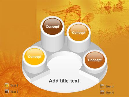 Leonardo Da Vinci PowerPoint Template Slide 12