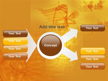 Leonardo Da Vinci PowerPoint Template Slide 14