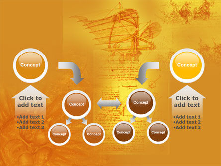 Leonardo Da Vinci PowerPoint Template Slide 19