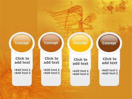 Leonardo Da Vinci PowerPoint Template Slide 5