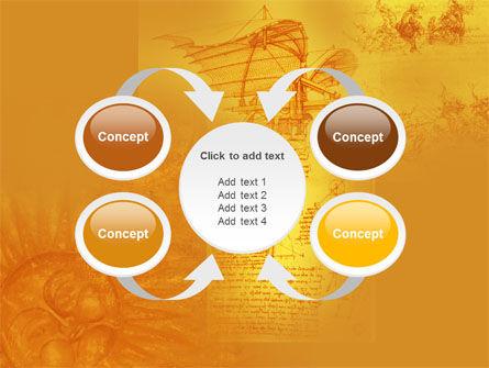 Leonardo Da Vinci PowerPoint Template Slide 6