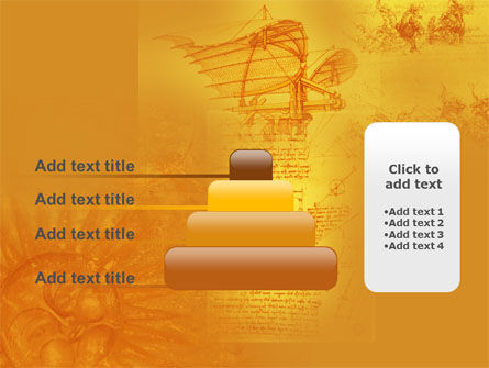 Leonardo Da Vinci PowerPoint Template Slide 8