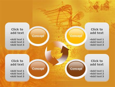 Leonardo Da Vinci PowerPoint Template Slide 9