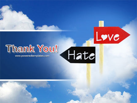 Love - Hate PowerPoint Template Slide 20
