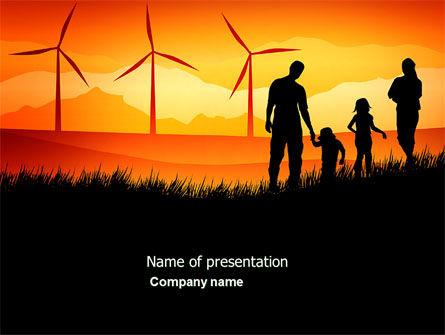 Nature & Environment: California PowerPoint Template #04519