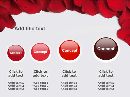 Hearts Theme PowerPoint Template Slide 13