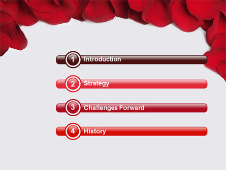 Hearts Theme PowerPoint Template Slide 3