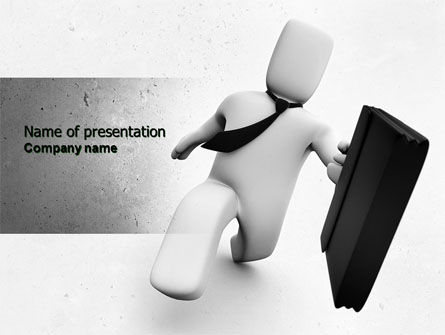 Careers/Industry: Emergency Business Consulting PowerPoint Template #04526