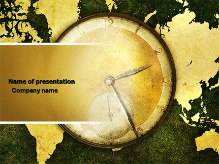 Time Zone PowerPoint Template, 04527, Global — PoweredTemplate.com