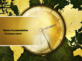 Global: Time Zone PowerPoint Template #04527