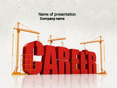 Careers/Industry: Career Building PowerPoint Template #04528