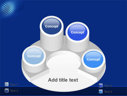 Blue Grate PowerPoint Template Slide 12