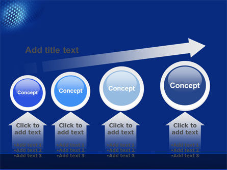 Blue Grate PowerPoint Template Slide 13