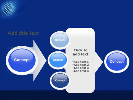 Blue Grate PowerPoint Template Slide 17