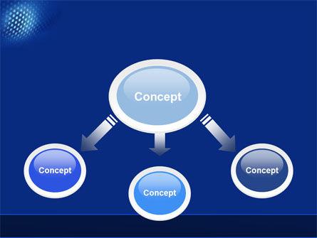 Blue Grate PowerPoint Template, Slide 4, 04532, Abstract/Textures — PoweredTemplate.com