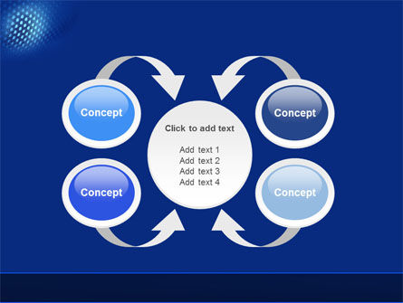 Blue Grate PowerPoint Template Slide 6