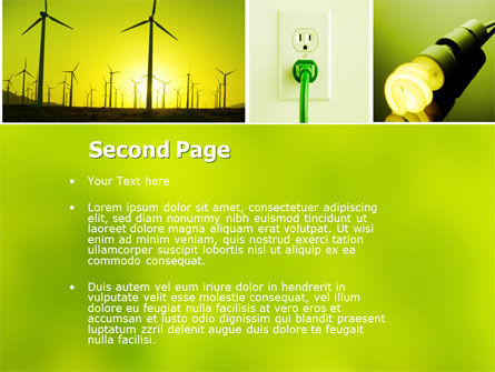 Alternative Energy PowerPoint Template Slide 2