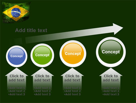 Brazilian Flag With Brazilian Silhouettes PowerPoint Template Slide 13