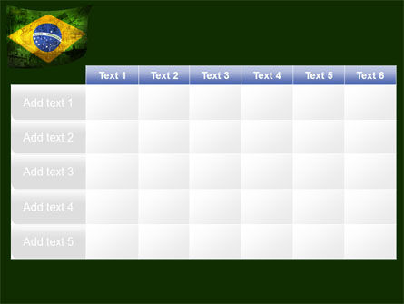 Brazilian Flag With Brazilian Silhouettes PowerPoint Template Slide 15