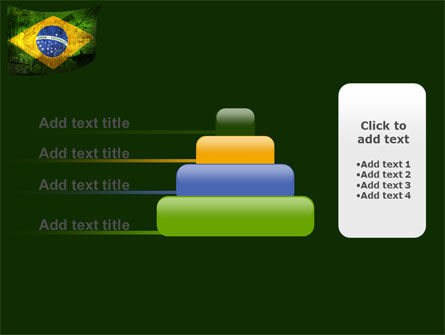 Brazilian Flag With Brazilian Silhouettes PowerPoint Template Slide 8