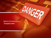 Consulting: Danger PowerPoint Template #04539