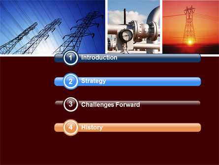 Energy Supply PowerPoint Template, Slide 3, 04540, Technology and Science — PoweredTemplate.com