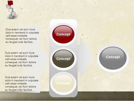 Red Brick PowerPoint Template Slide 11