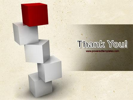 Red Brick PowerPoint Template Slide 20